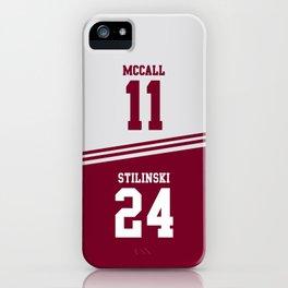 McCall & Stilinski iPhone Case