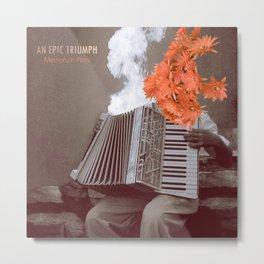 AN EPIC TRIUMPH Metal Print