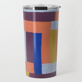 Painted color blocks Travel Mug
