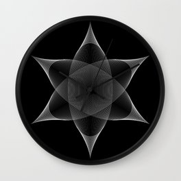 Ether I Wall Clock