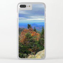Whiteface Mountain, Adirondacks Clear iPhone Case