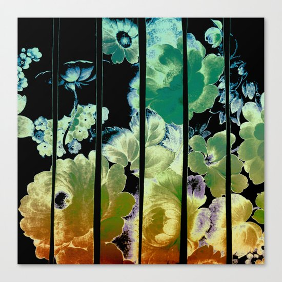 trapped floral Canvas Print