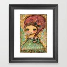 The Queen Marie Antoinette Framed Art Print