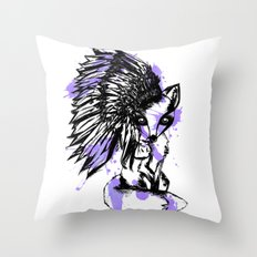fox spirt  Throw Pillow