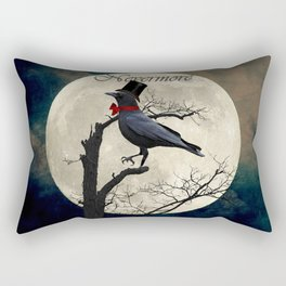 And the Raven Said, Nevermore (Inspired by The Raven) A657 Rectangular Pillow