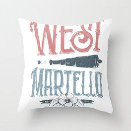 West Martello Throw Pillow