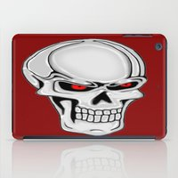 metallic iPad Cases featuring Metallic Skull by J&C Creations