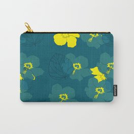 Flowertime Carry-All Pouch