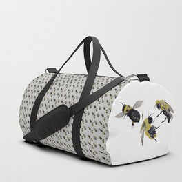Water colour bees Duffle Bag