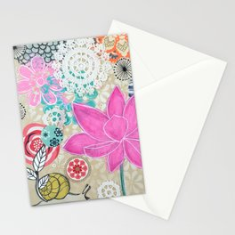 Trust the Divine Timing of Your Life Stationery Cards