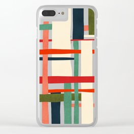 Variation of a theme Clear iPhone Case