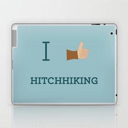 I heart Hitchhiking Laptop & iPad Skin