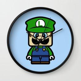 Super Chibi Luigi Wall Clock