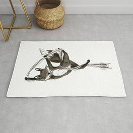 Aerial Fox Rug