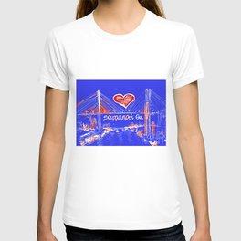 I love Savannah blu T-shirt
