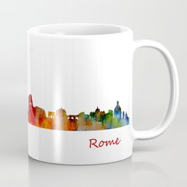 Rome city skyline HQ v01 Coffee Mug