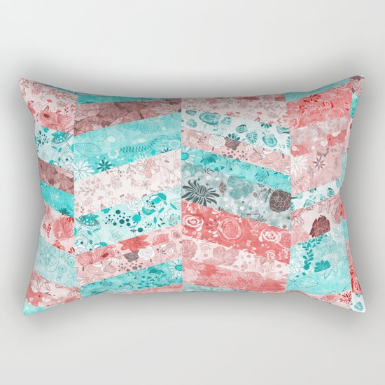 Paris Pattern Rectangular Pillow