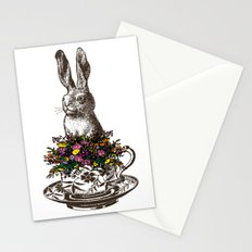 Rabbit in a Teacup Stationery Cards