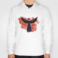 cyrilliart Hoodies featuring Mockingjay by Cyrilliart