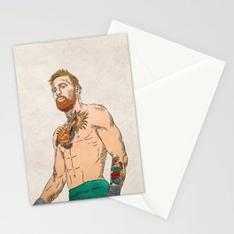 Conor McGregor Stationery Cards