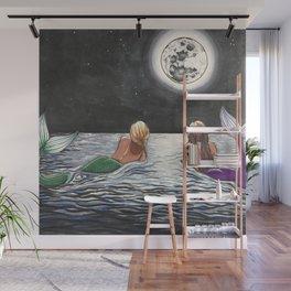 Mermaid Moon Wall Mural