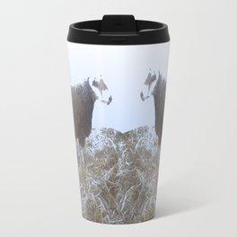 Solitude on straw Travel Mug