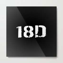 18D Special Forces Medical Metal Print