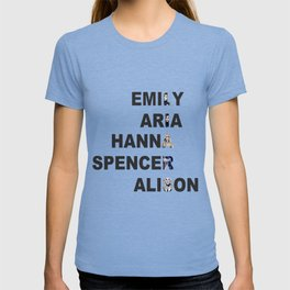 Pretty Little Liars - Girls Name Acrostic T-shirt