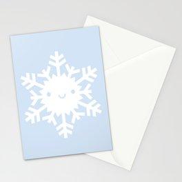 Kawaii Snowflake Stationery Cards