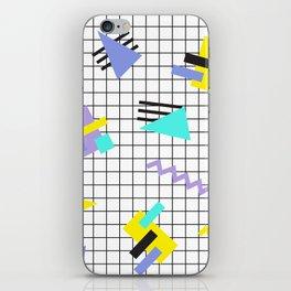 Memphis pattern 6 iPhone Skin