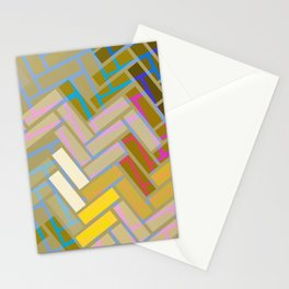 Fill In The Blank Colors Stationery Cards
