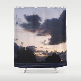 Sunset at La Push Shower Curtain