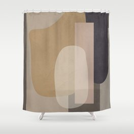 Abstract Geometric Art 51 Shower Curtain