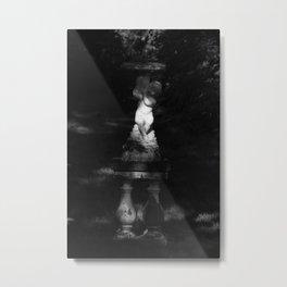 Fountain of light Metal Print