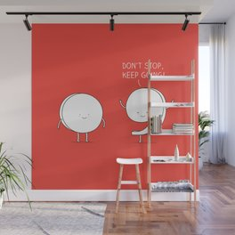 positive punctuation Wall Mural
