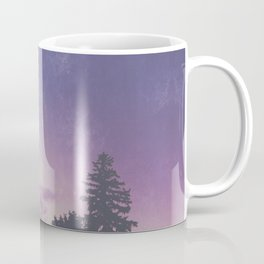 Purple Pines Coffee Mug