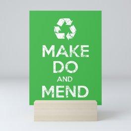 Make Do and Mend Mini Art Print