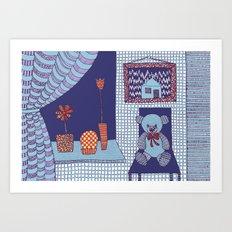Doll's House Art Print