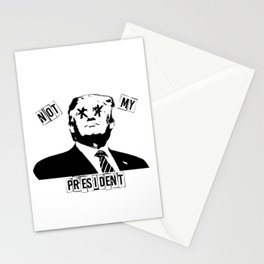 PUNK NOT TRUMP Stationery Cards