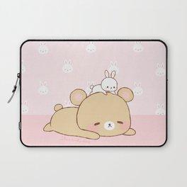 bear and bunny Laptop Sleeve