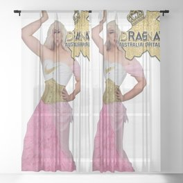 Dragnation Season 5 - ACT - Toni Kola Sheer Curtain