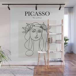 Picasso - War and Peace Wall Mural