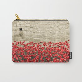 Tower Poppies 02A Carry-All Pouch