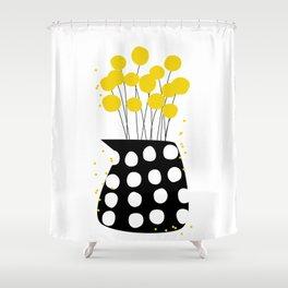 Craspedia Shower Curtain