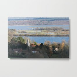 Close to the Floods Metal Print