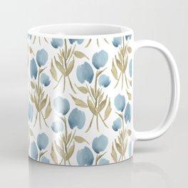 Midnight Tulips Coffee Mug