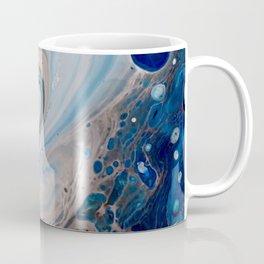 Breaking Wave Blue Macro Print Coffee Mug