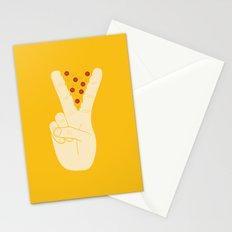 Peace-za Stationery Cards