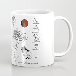 Halsey's Tattoos Coffee Mug