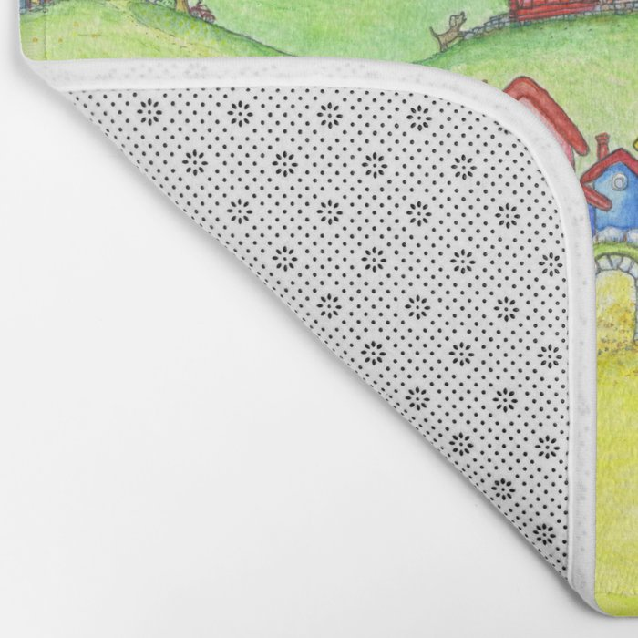 The hills Bath Mat